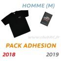 Adhésion Homme : T-shirt M