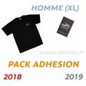 Adhésion Homme : T-shirt XL