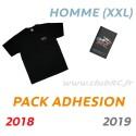 Adhésion Homme : T-shirt XXL