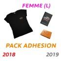 Adhésion Femme : T-shirt L