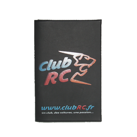 "L'étui de carte-grise ""Club RC"""